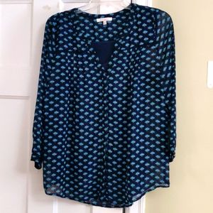 Skies are Blue Blouse with Camisole M